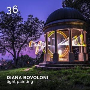 Diana Bovoloni, Light Painting Brescia. GlamourAffair Vision 05, Settembre Ottobre 2019. Magazine di fotografia, arte e design di Glamouraffair.com