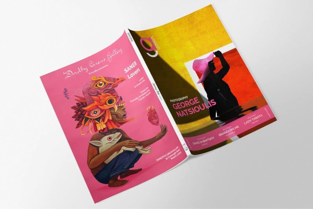 GlamourAffair Vision 05, Settembre Ottobre 2019. Magazine di fotografia, arte e design di Glamouraffair.com
