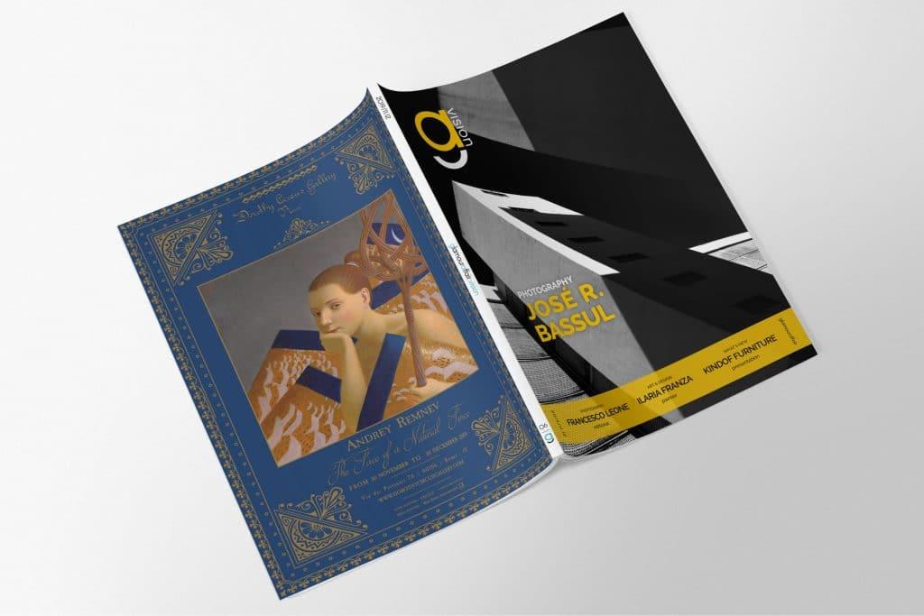 GlamourAffair Vision 06, Novembre Dicembre 2019. Magazine di fotografia, arte e design di Glamouraffair.com