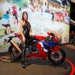 EICMA girls 2019 - Rho Fiera Milano - Denise Frigo, stand Honda