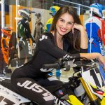 EICMA girls 2019 - Rho Fiera Milano - Rebecca Gargioni, stand JUST1 Racing