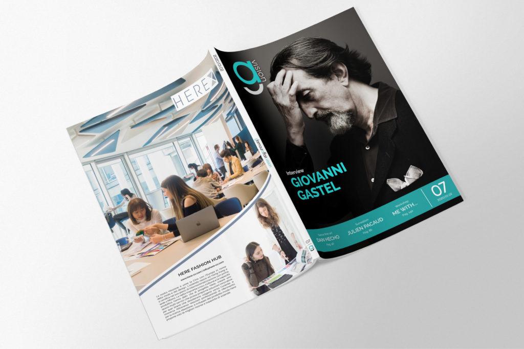 GlamourAffair Vision 07, Gennaio Febbraio 2020. Magazine di fotografia, arte e design di Glamouraffair.com