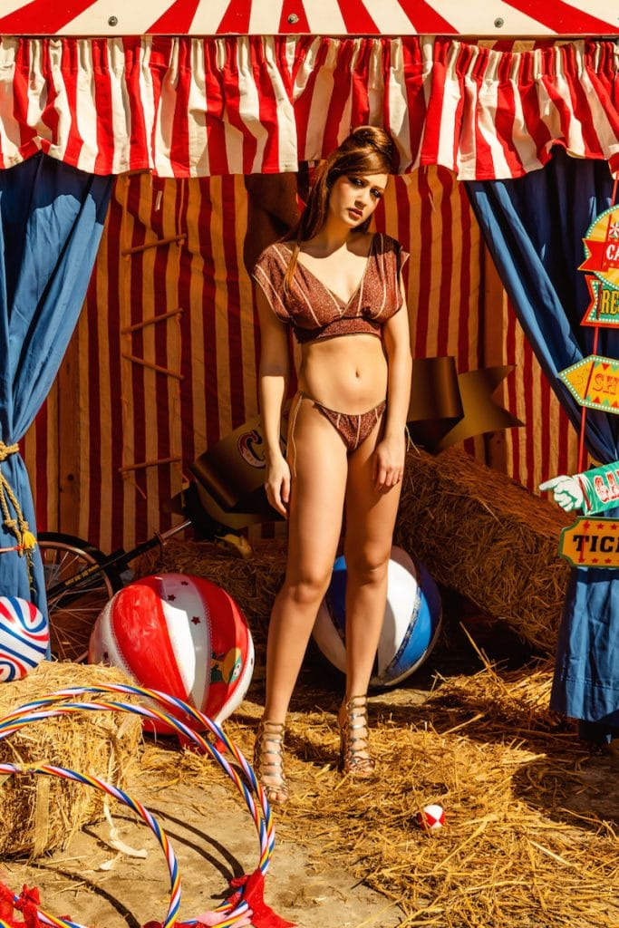 Malì beachwear circus collection