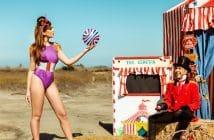 Malì beachwear circus collection