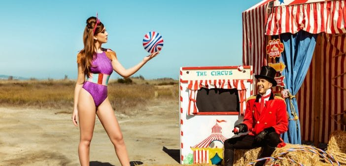 "MALÌ BEACHWEAR ""CIRCUS COLLECTION"""