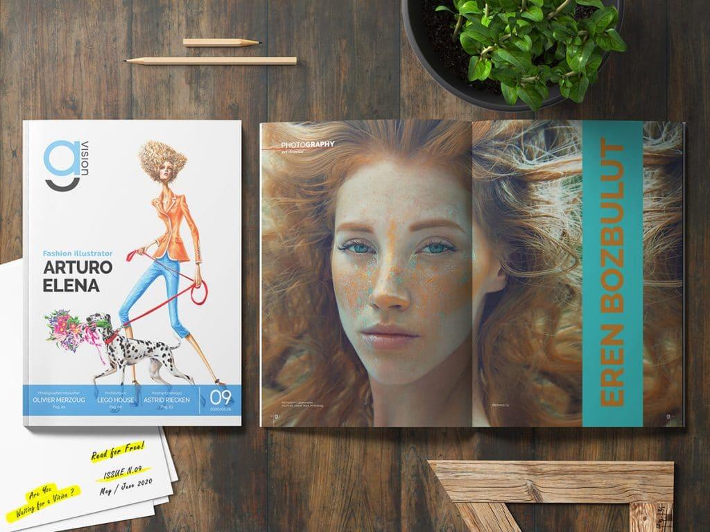 GlamourAffair Vision 09, Maggio Giugno 2020. Magazine di fotografia, arte e design di Glamouraffair.com
