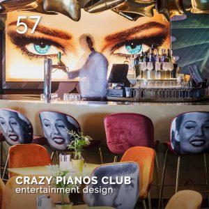CRAZY PIANOS CLUB, GlamourAffair Vision 15, maggio/giugno 2021. Magazine di fotografia, arte e design di Glamouraffair.com