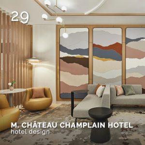 MARRIOTT CHÂTEAU CHAMPLAIN HOTEL, GlamourAffair Vision 16, luglio/agosto 2021. Magazine di fotografia, arte e design di Glamouraffair.com