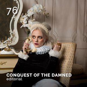 CONQUEST OF THE DAMNED, GlamourAffair Vision 16, luglio/agosto 2021. Magazine di fotografia, arte e design di Glamouraffair.com