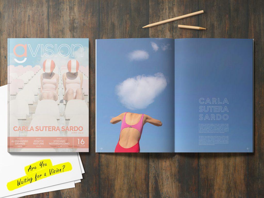 GlamourAffair Vision 16, luglio/agosto 2021. Magazine di fotografia, arte e design di Glamouraffair.com