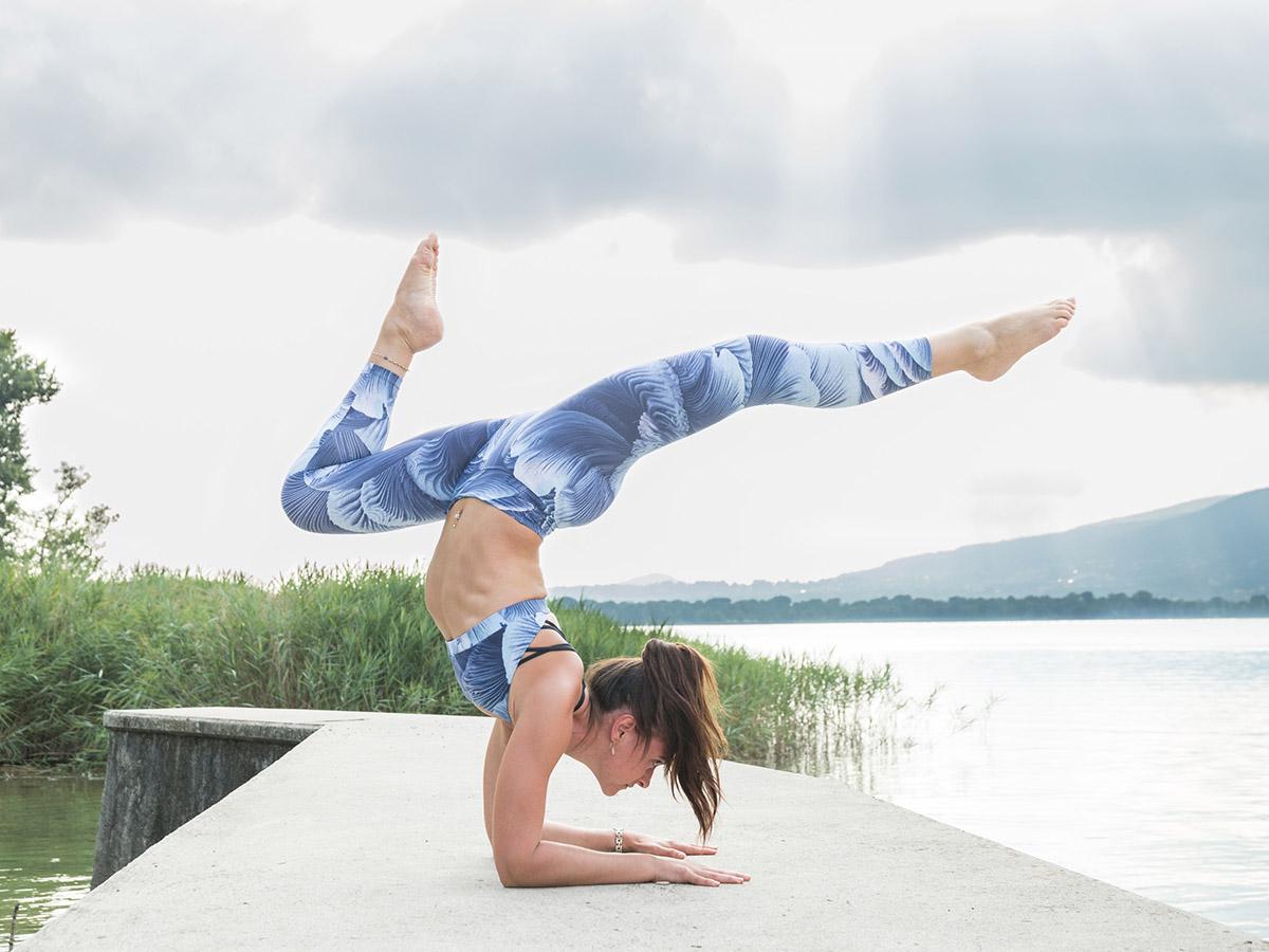 Ph. Stefano Gilardi; Istruttrice Yoga Micol Dell'Oro; Location Bosisio Parini