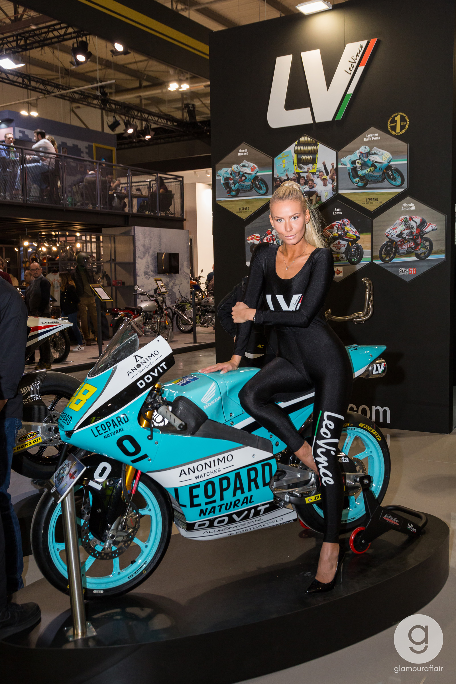 Categorie: Portrait, Reportage; Ph. STEFANO GILARDI; Evento: EICMA 2019; Hostess EICMA