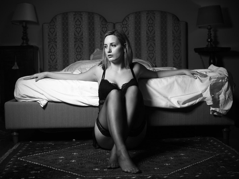 Categorie: Boudoir & Nude, Glamour, Portrait; Photographer: LUCA BARTOLI (ElleBierre photographer); Model: MIRIAM CECILIA PETRONELLI; Writer: FEDERICA SANTI; Location: Ferrara, FE, Italia