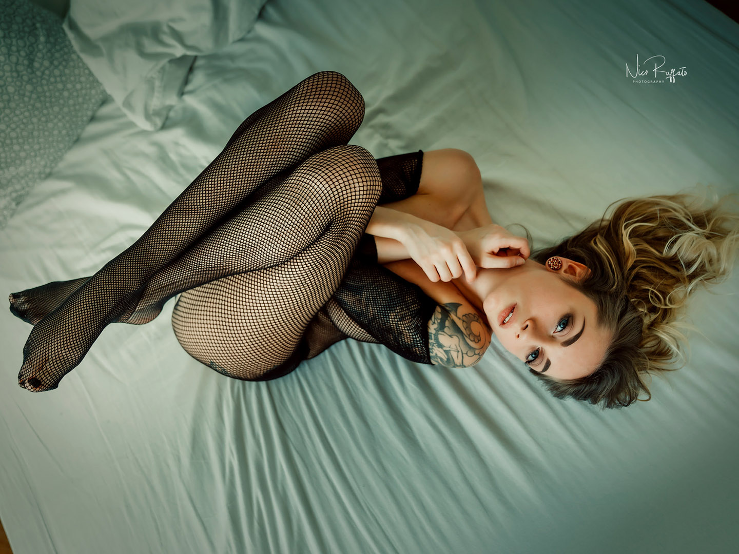 Categorie: Boudoir & Nude, Glamour, Portrait; Photographer: NICO RUFFATO; Model: STEPHANIE LIARDO; Location: Roma, RM, Italia
