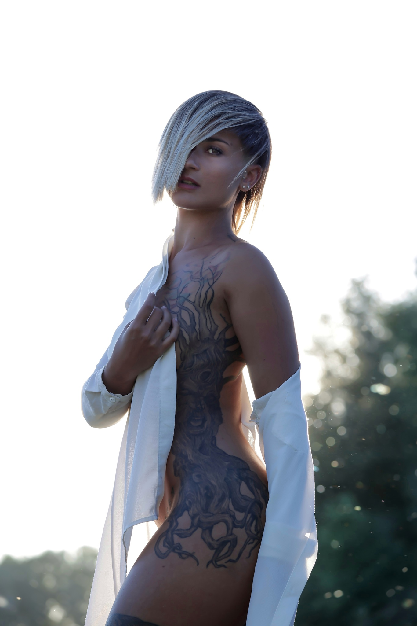 Categorie: Boudoir & Nude, Glamour, Portrait; Photographer: SARA GENTILI; Model: VIRGINIA DAIMON; Location: Stimigliano, RI, Italia