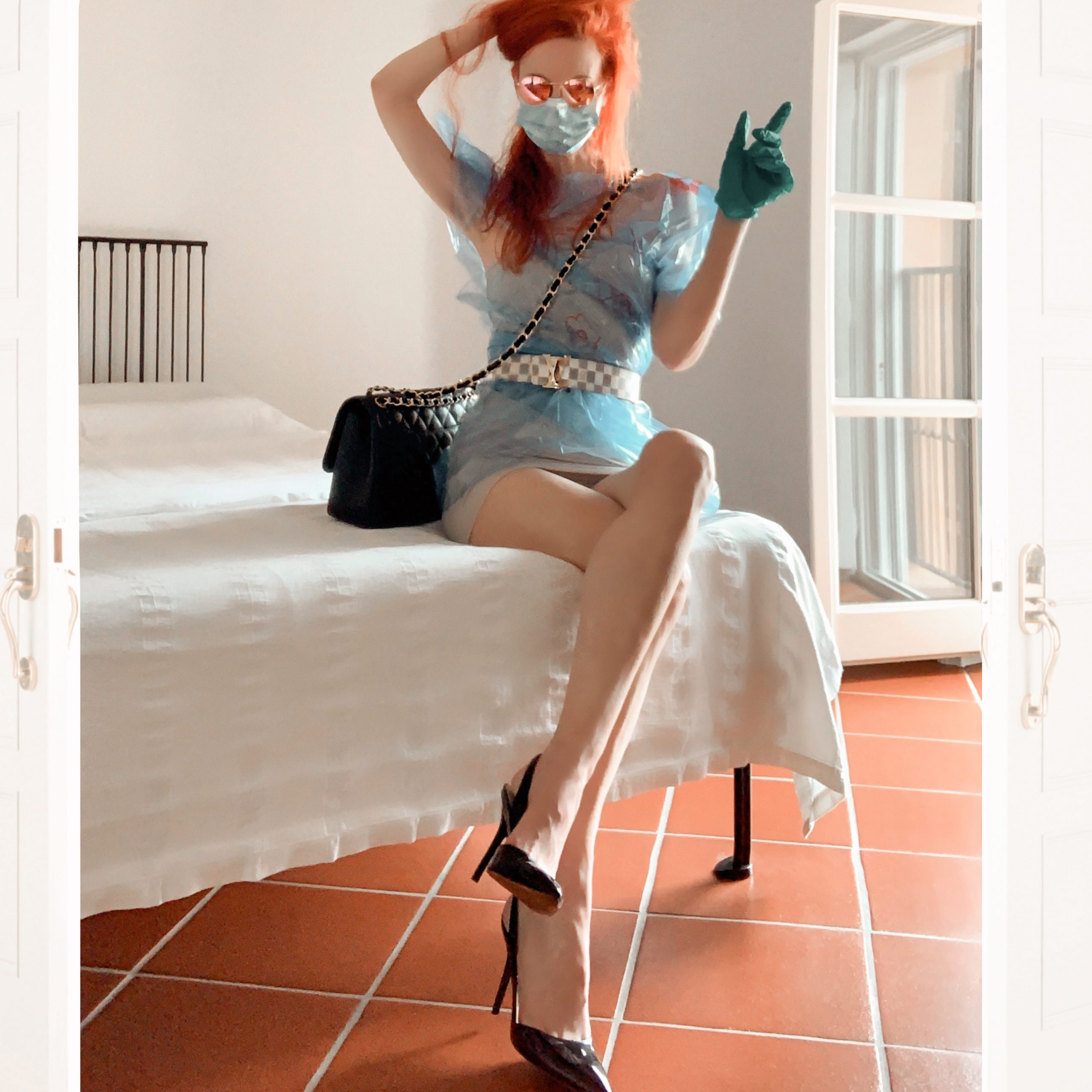 Categorie: Fashion, Glamour; Ph, Stylisth, Mua & Model: BARBARA BERTAGNI (Ladybb); Location: Cremona, CR, Italia