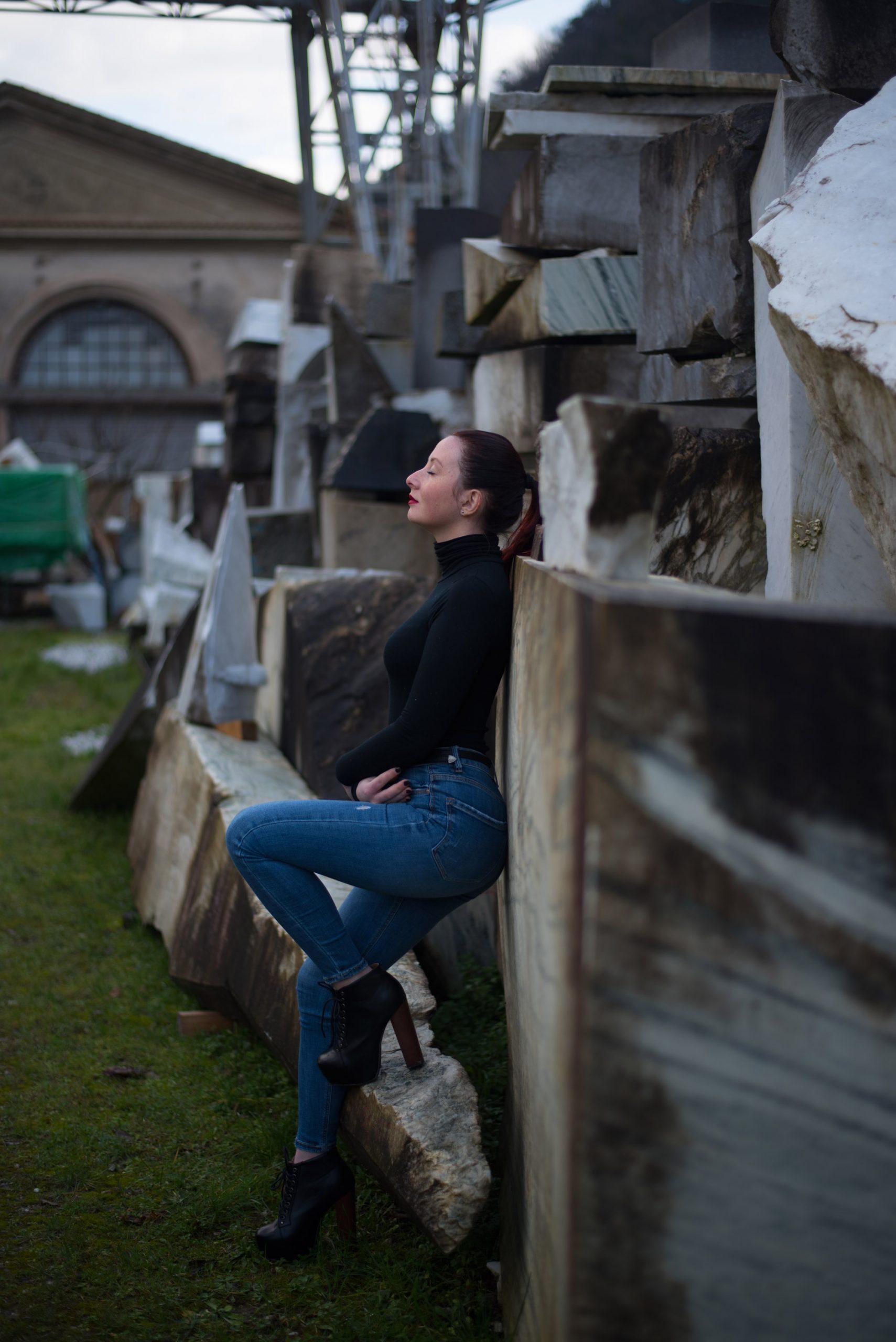 Categorie: Fashion, Portrait; Photographer: MASSIMILIANO TOLENTINI (tolemax); Model: ARIANNA DELLE ROSE; Location: Viareggio, LU, Italia