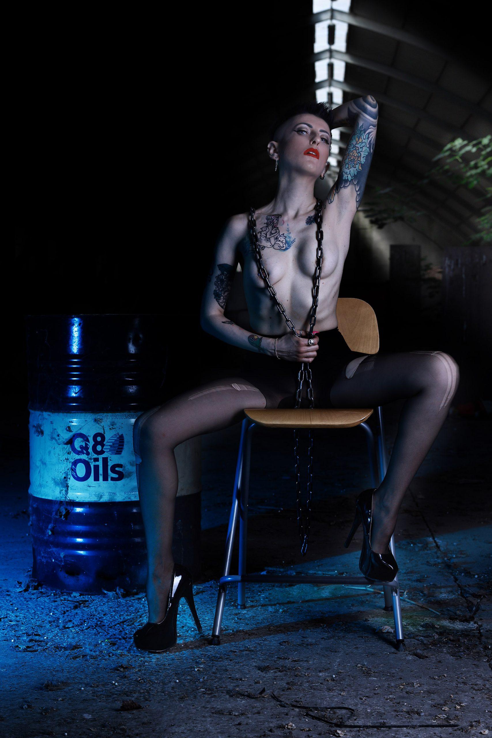 Categorie: Boudoir & Nude, Glamour, Portrait; Photographer: LUCA BARTOLI (ElleBierre photographer); Model: LAURA PAGANO; Location: Ferrara, FE, Italia