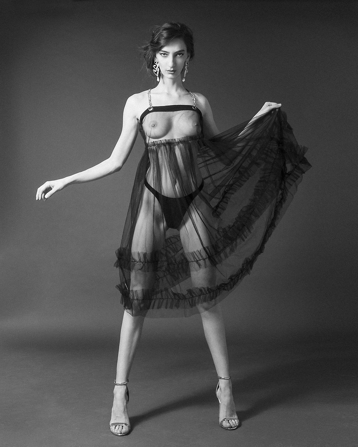 Categorie: Boudoir & Nude, Fine Art, Glamour; Photographer: LEONE RECH DALDOSSO; Art Director: PAOLA PECORARI; Musa: PIA PILLA; Location: Brescia, BS, Italia