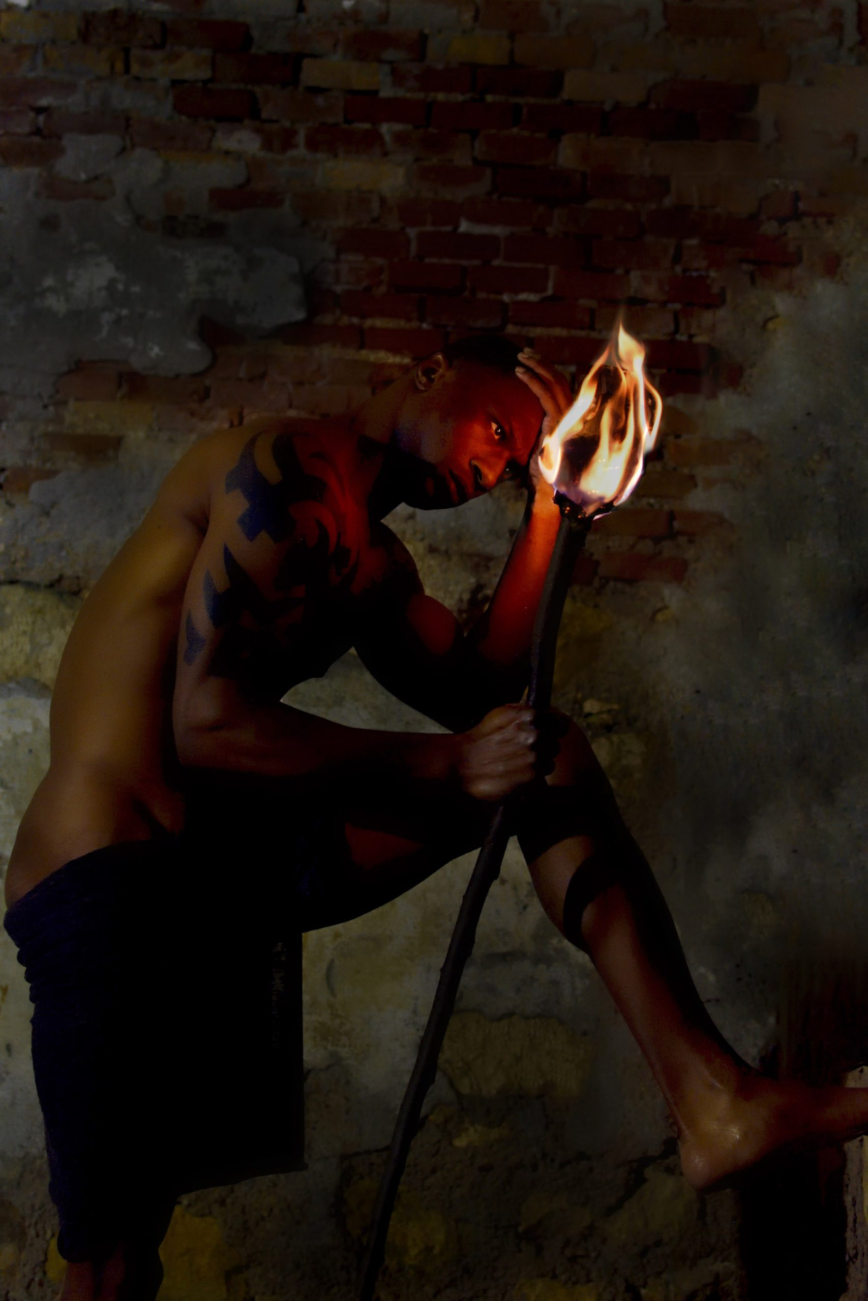 Categorie: Boudoir & Nude, Portrait - Photographer: ROSY CARLETTI - Model: MICHAEL J. OBETEN - Location: Verona, VR, Italia