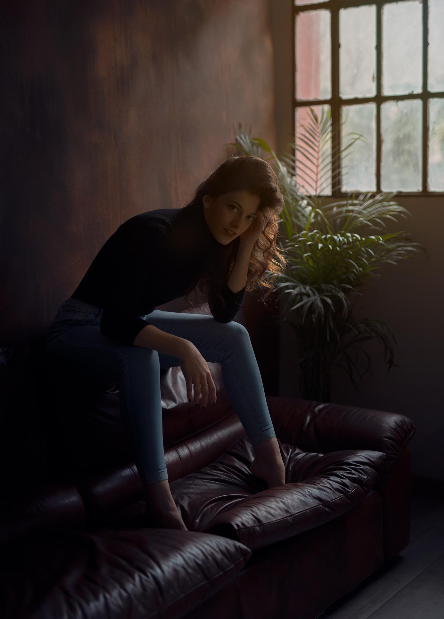 Categorie: Glamour, Portrait - Photographer: FEDERICO PASQUALINI - Model: ERIKA PRIMO - Location: Verona, VR, Italia