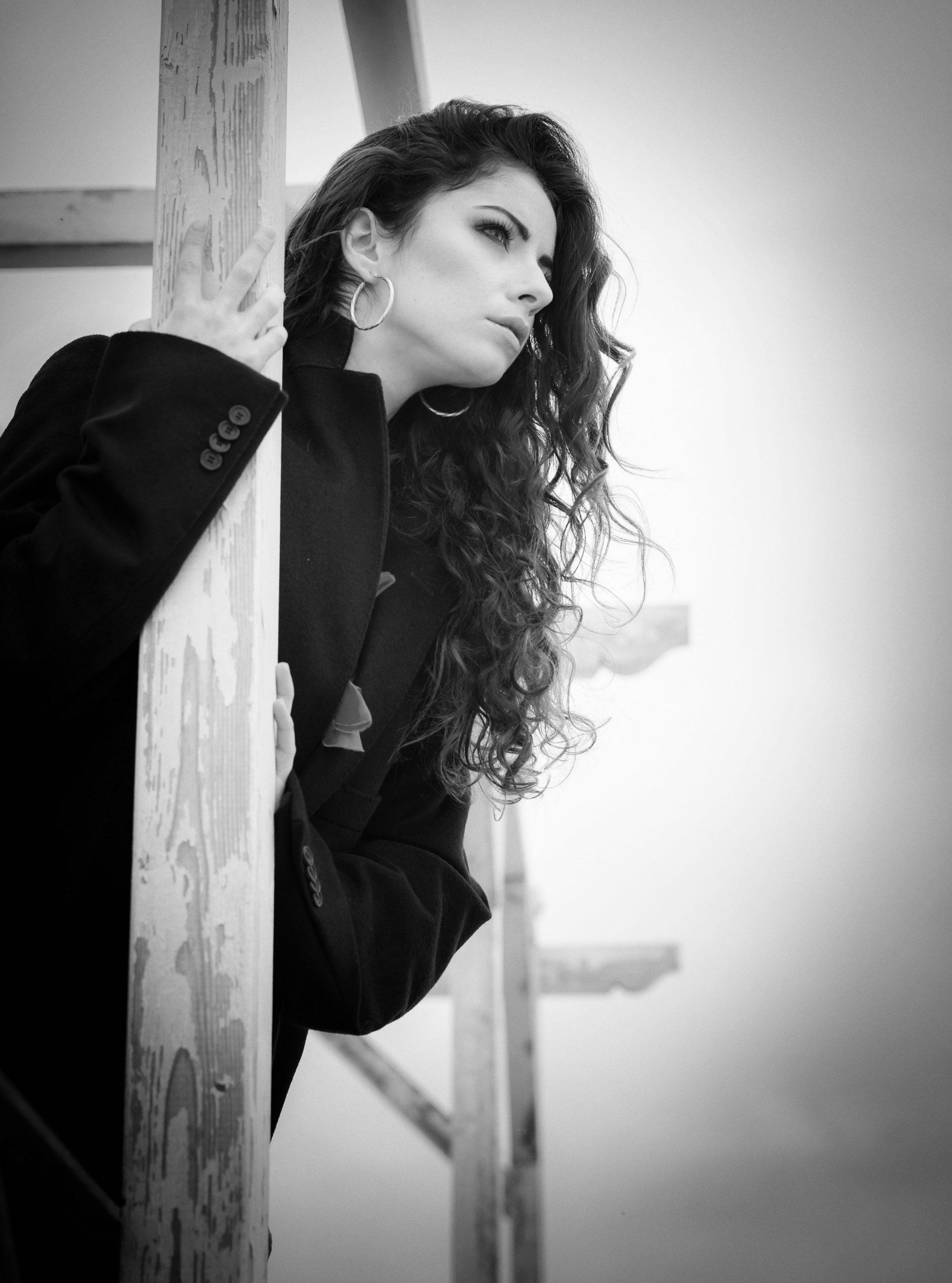 Categorie: Portrait - Photographer: GAETANO PASTORE; Model & Dancer: MIKI KRAVIZ; Mua: CRISTINA DI GIACOPO - Location: Ostia