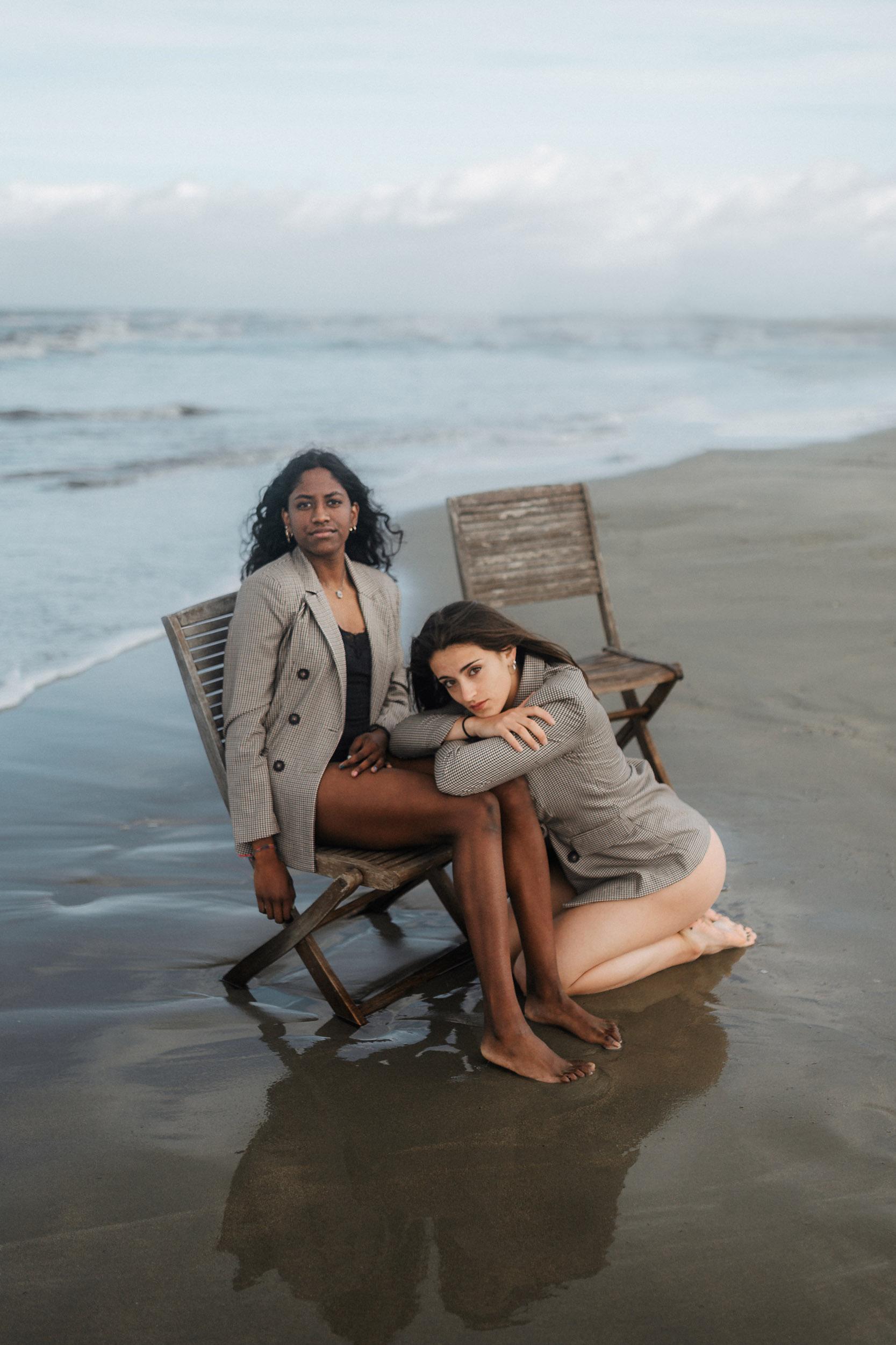Categorie: Glamour, Portrait - Ph. Virginia Imbimbo- Model: Marta Giaele Giovannini- Chanda Bottino - Assistente: Luca Martella - Location: Tirrenia, PI, Italia