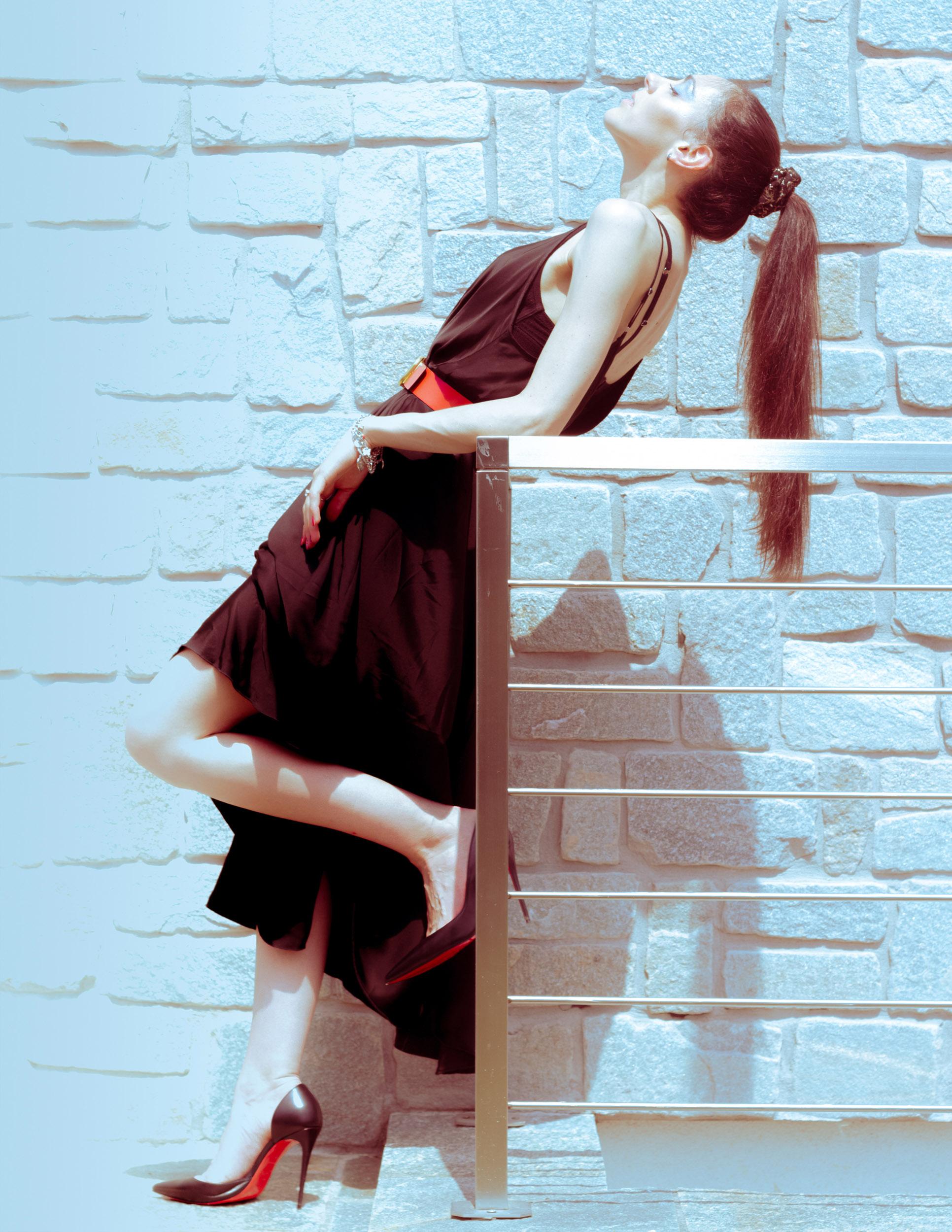 Categorie: Portrait, Glamour - Ph. ANTEA FERRARI - Model: ALESSANDRA SIRTORI - Location: Viganò, LC, Italia