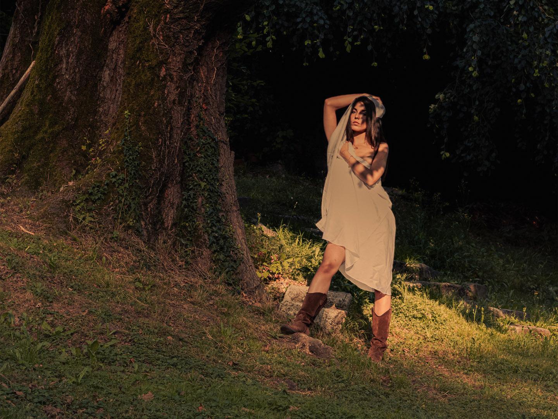 Categorie: Portrait, Glamour - Ph. ANTEA FERRARI, Model: ELISA BERNA - Mua: INDIGO - Location: Lecco, Lc