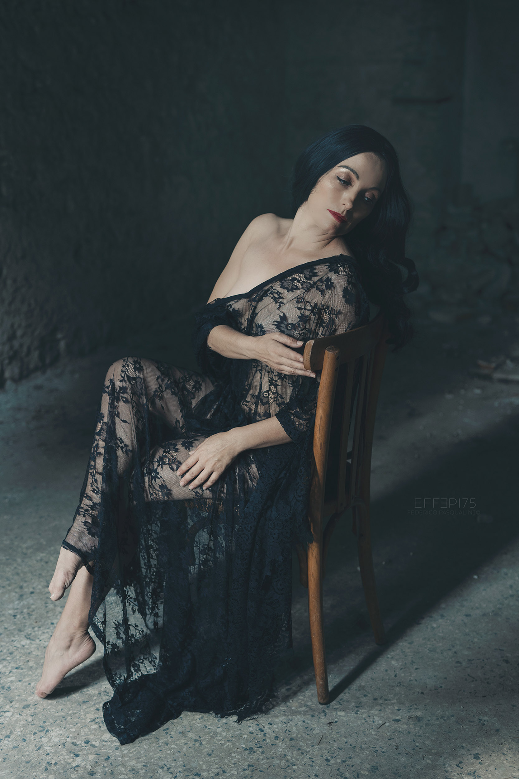 Categorie: Glamour, Portrait, Boudoir & Nude - Photographer: FEDERICO PASQUALINI - Model: ORIANA DAKOTA - Location: Vicenza, VI, Italia