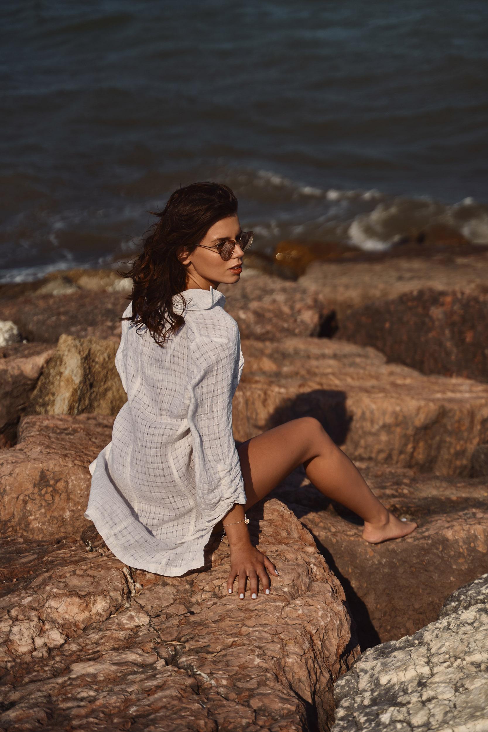 Categorie: Glamour, Portrait, Fashion - Ph: MIRKO LEONI - Model: MICHELA PARUTTO - Location: Rosolina, RO, Veneto, Italia