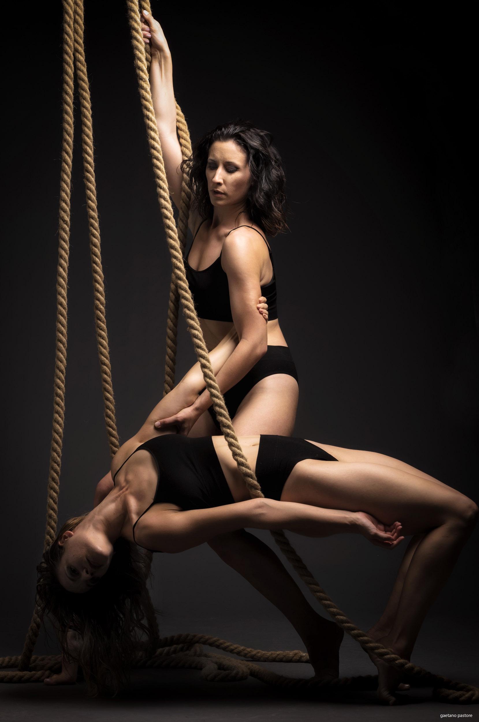 Categorie: Glamour, Portrait - Photographer: GAETANO PASTORE - Model & Dancer: ANGELA CAPUTO, MARTINA CARIELLO- Location: Roma