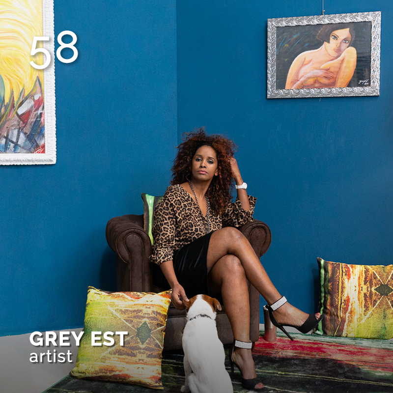 Glamour Affair Vision N. 13 | 2021-01.02 - GREY EST - pag. 58