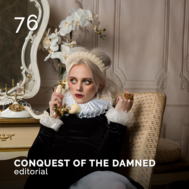 Glamour Affair Vision N. 16 | 2021-07.08 - CONQUEST OF THE DAMNED - pag. 76