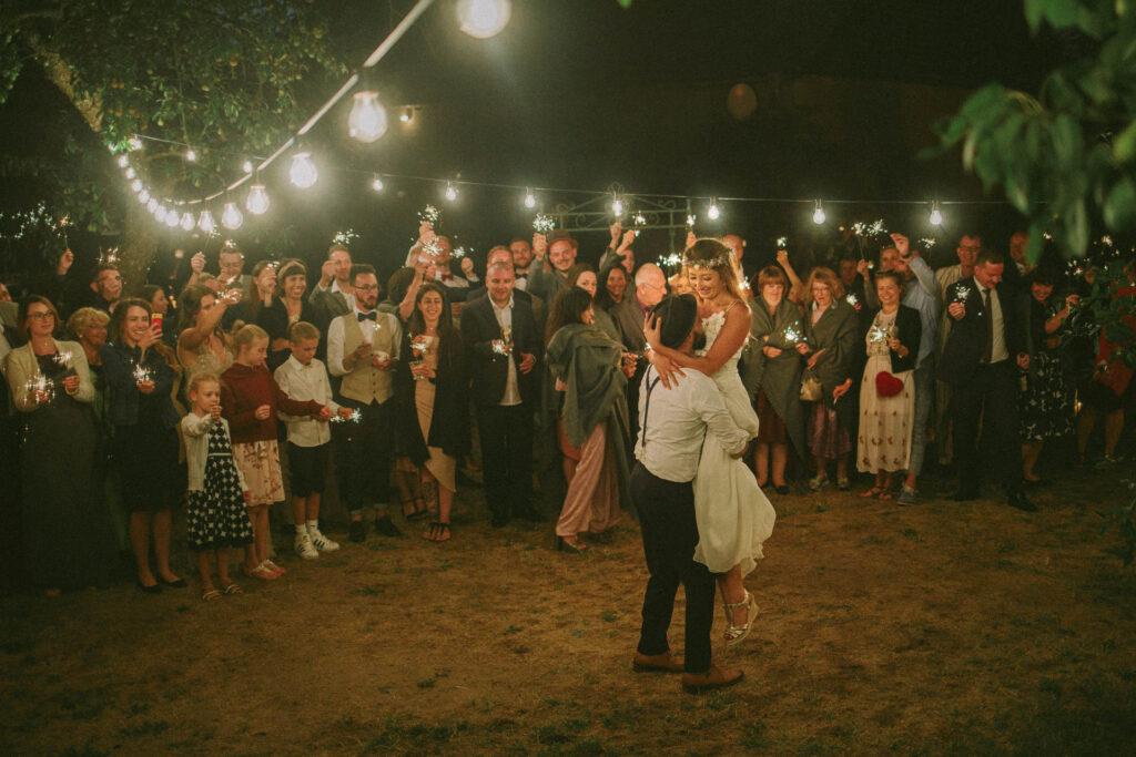 Schmetterlingsgarten Party Hochzeitsfotografie