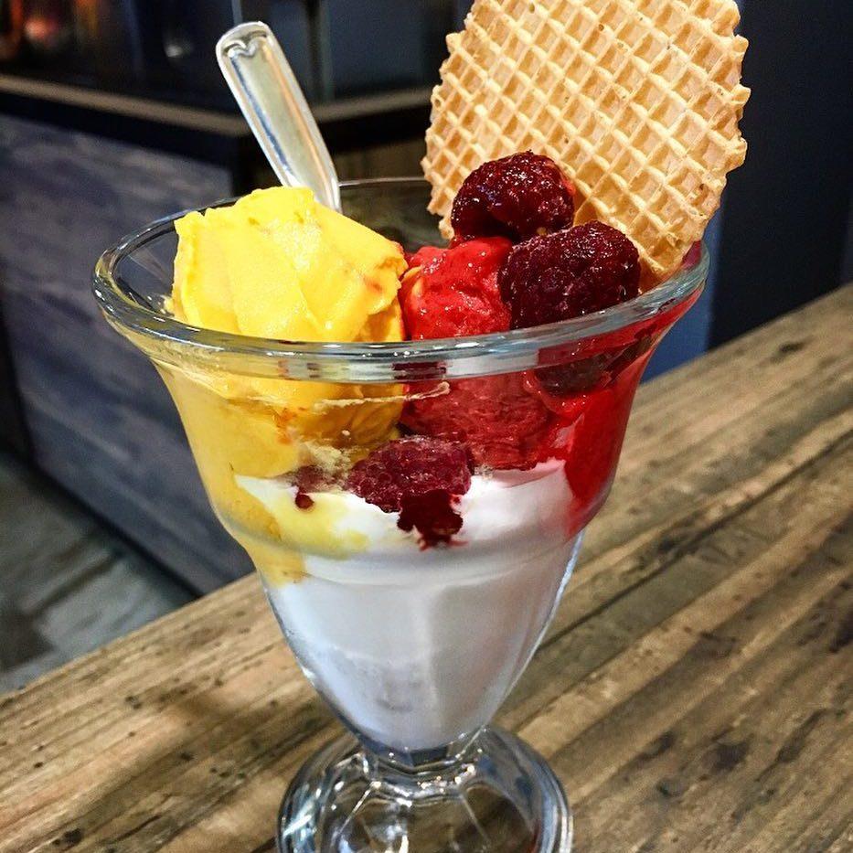 Meny, gelato