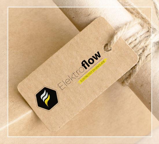 Huisstijl Elektroflow_Logo_Glimpse