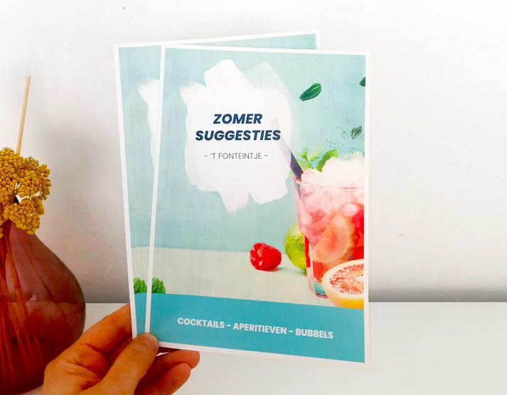 Cocktailkaart_CaféTFonteintje_Glimpse