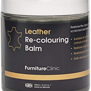 Furniture Clinic Leather Recolouring Balm - Leather Color Restorer for Furniture, Leather Color Repair for Faded & Scratched Sofas, Cars, Shoes and Clothing - 21 Colors for Leather Upholstery (Beige)