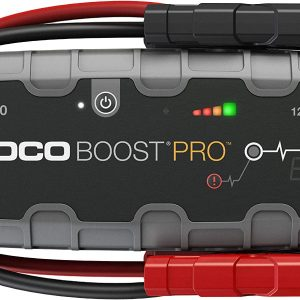 NOCO Boost Pro GB150 4000 Amp 12-Volt UltraSafe Portable Lithium Jump Starter, Car Battery Booster Pack, And Jump Leads For Up To 9-Liter Gasoline And 7-Liter Diesel Engines