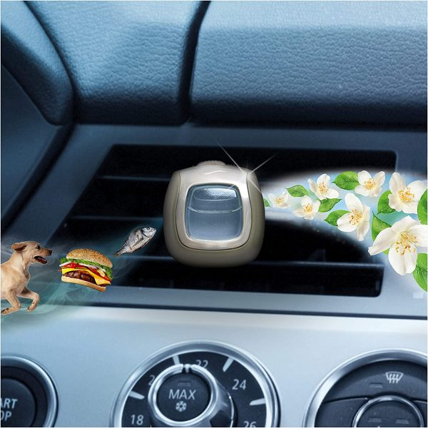 Febreze Car Air Freshener, Pack of 6, Each Clip Lasts Up To 30 Days