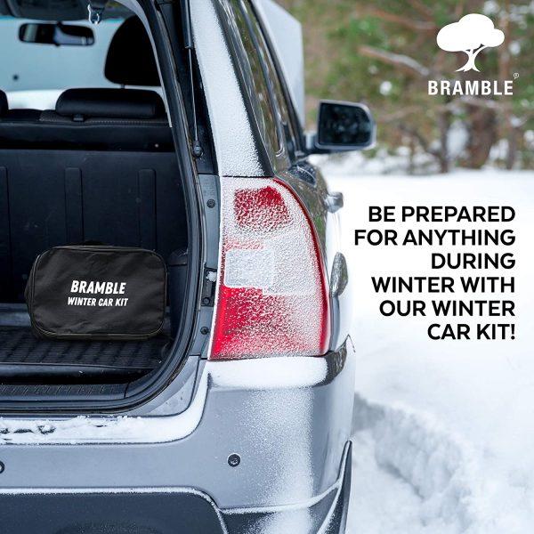 Bramble - 8 Piece Large Winter Car Kit - Contains Essentials for Emergencies