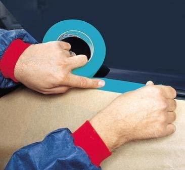 """3m 3434 Blue Car Trim Protection Tape 2"""" - 50mm x 50m"""