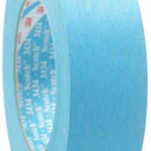 Scotch Water Resistant Blue Automotive Masking Tape - 25 mm x 50 m
