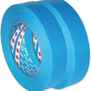 AutoBright 3M 25mm x 50m Blue Scotch Car Masking Tape. Two Rolls