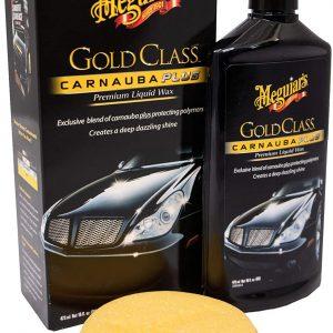Meguiar's ME G7016 Gold Class Carnauba Plus Premium Liquid Car Wax 473ml