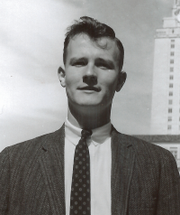Randy Wicker, late 1950s at the University of Texas at Austin.