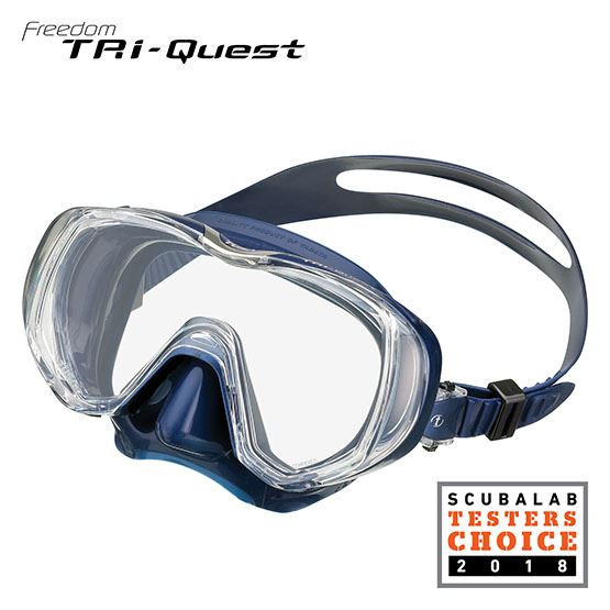 tusa tri quest diving mask M3001