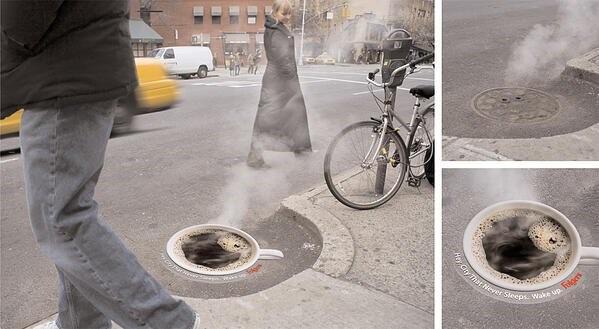 street marketing globalnetside coffe time