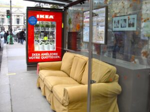 ikea campaña street marketing